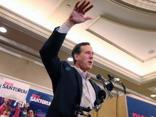 GOP presidential candidate Rick Santorum (Scott Olson/Getty Images)