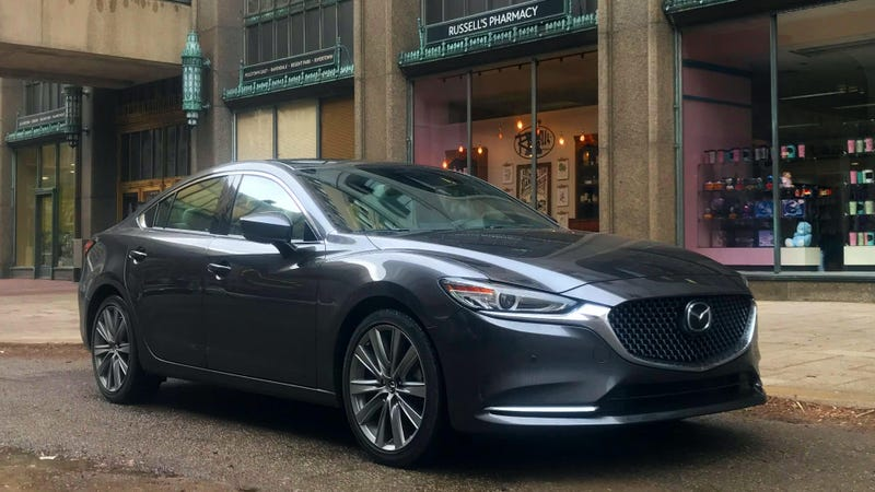 Ilration For Article Led The 34 750 2019 Mazda 6 Signature Reminded Me How Good Sedans Can