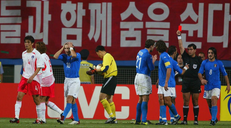 Italian Paper Alleges FIFA Used Corrupt Refs To Fix 2002 World Cup Games