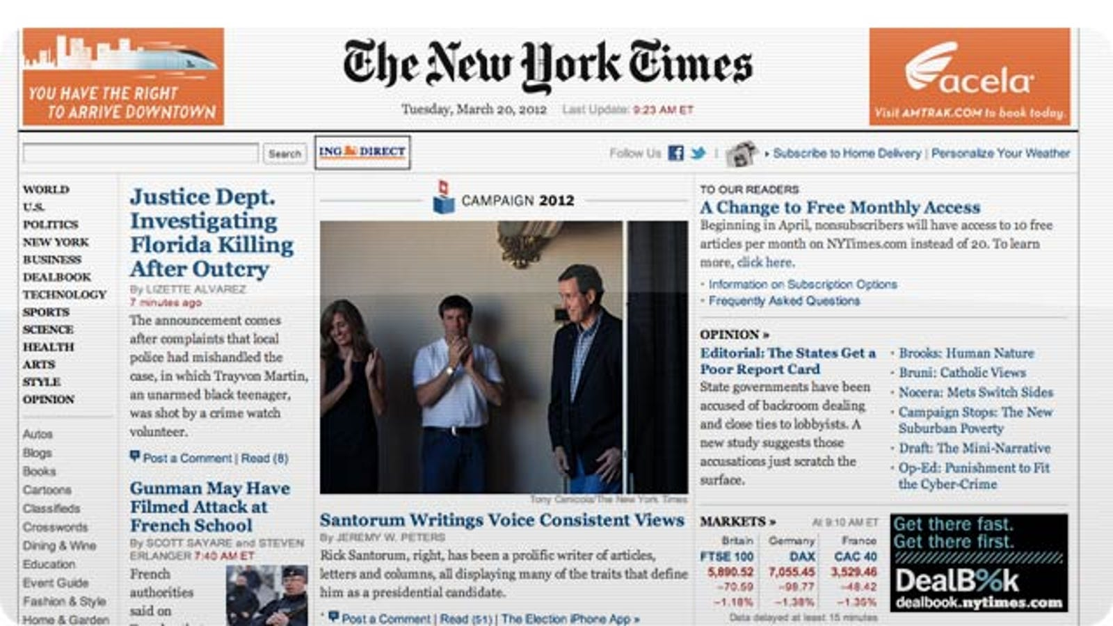 The New York Times Is Making Its Paywall Even Stricter and Its