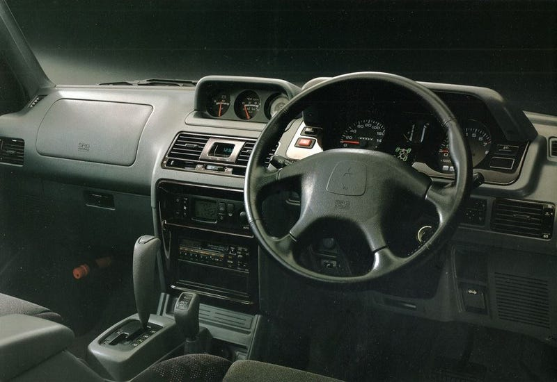 meet the mitsubishi pajero evo the last forgotten homologation special - 1998 Mitsubishi Montero Interior