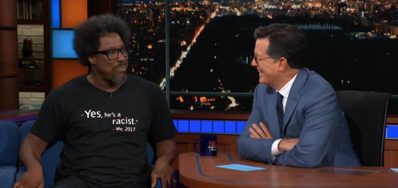 W. Kamau Bell, Stephen Colbert