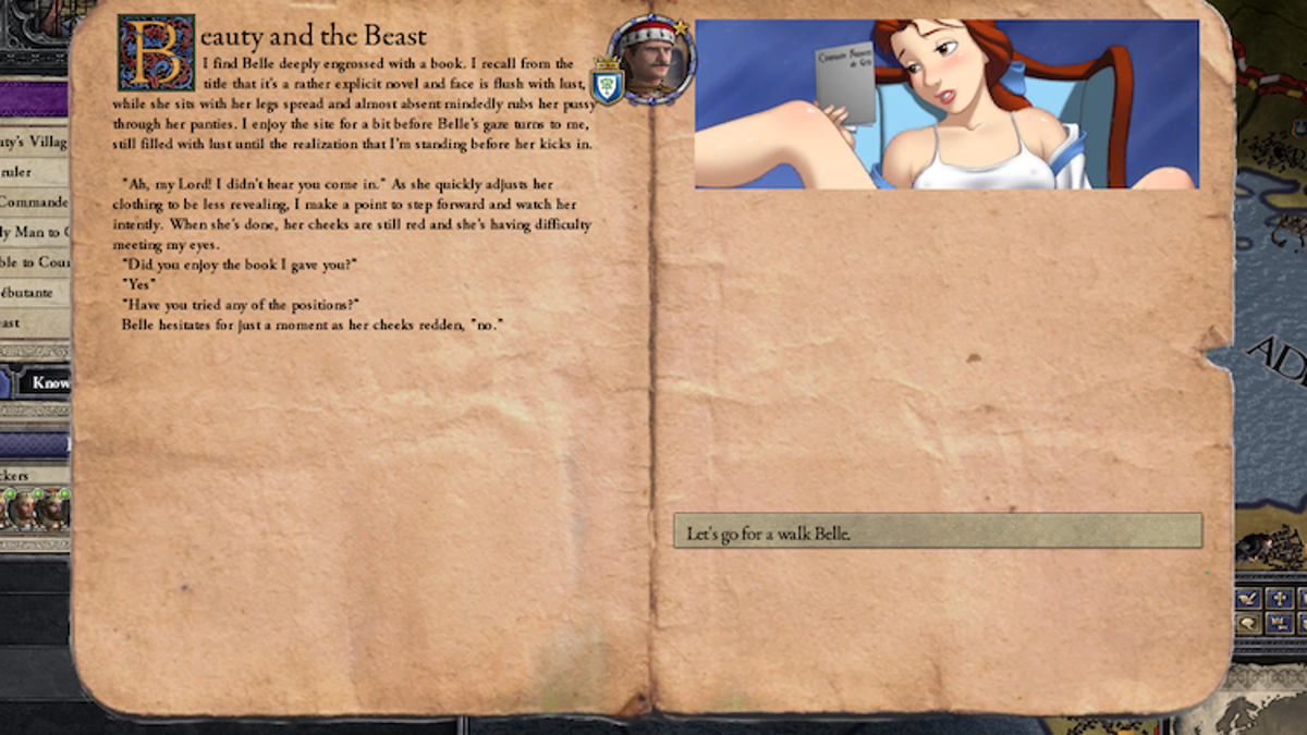 Adding Dick Sizes To Historical Strategy Game Introduces