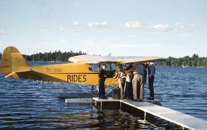 Lake Thompson, Rhinelander, WI - 8/1953
