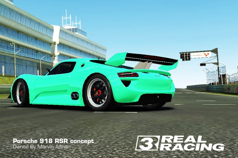 Illustration for article titled Bought a 918 RSR