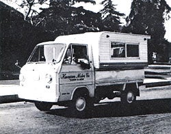 Illustration for article titled Cony 360 Wide 'Micro Camper Van'