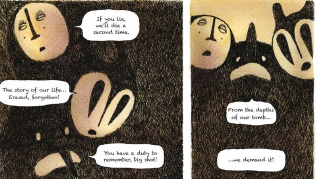 Dark Horse s The Shadows Uses Gorgeously Grim Imagery to Tell a Refugee s Story