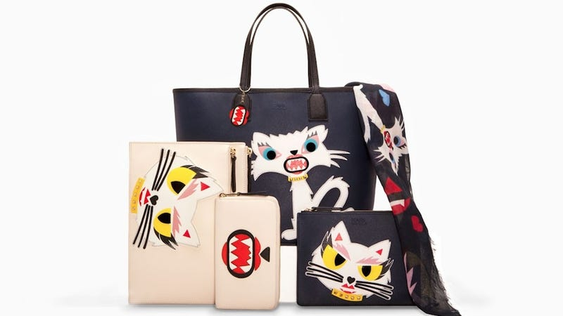 Karl Lagerfeld Has Borrowed On His Cat Choupette S Star For A Line Of Clothing And Accessories Coming This Fall Unfortunately It Is Nothing I Want