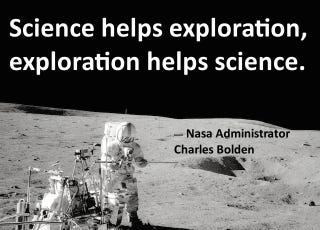 Illustration for article titled NASA Administrator Charles Bolden Defends NASA's Mission. All of It.