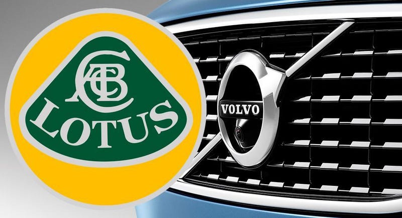 Illustration for article titled Volvo and Lotus Are Now Under the Same Banner