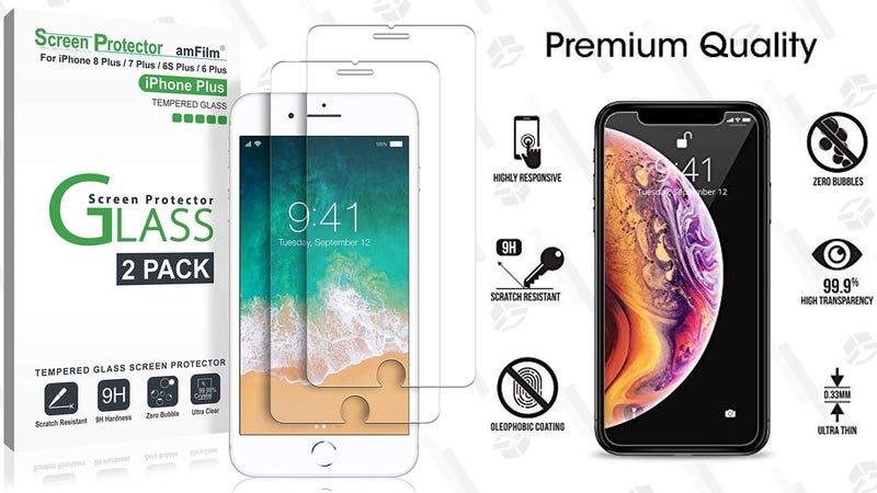3-Pack amFilm iPhone XS Max Screen Protectors | $3 | Amazon | Promo code T3H84MKX2-Pack amFilm iPhone 6/7/8 Plus Screen Protectors | $3 | Amazon | Promo code YWU5NK3X2-Pack amFilm iPhone 6/7/8 Screen Protectors | $3 | Amazon | Promo code XRCJQAEV