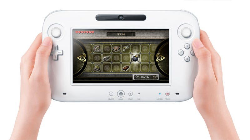 Illustration for article titled This is the First Picture of Nintendo's New Controller on the Wii U