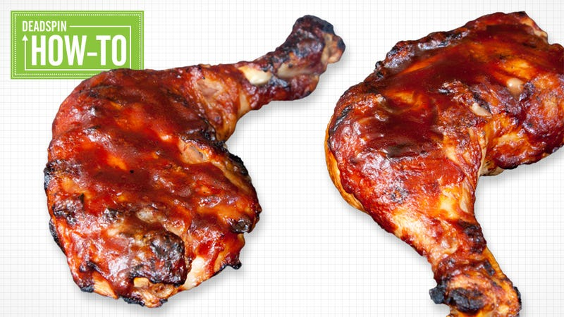 Illustration for article titled How To Barbecue Chicken Thighs: A Guide For People Who Aren't Assholes