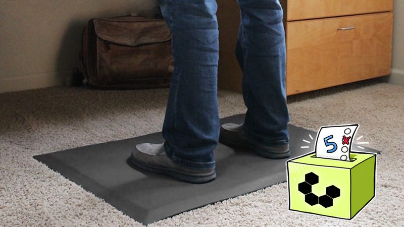 Illustration for article titled Five Best Standing Desk Floor Mats