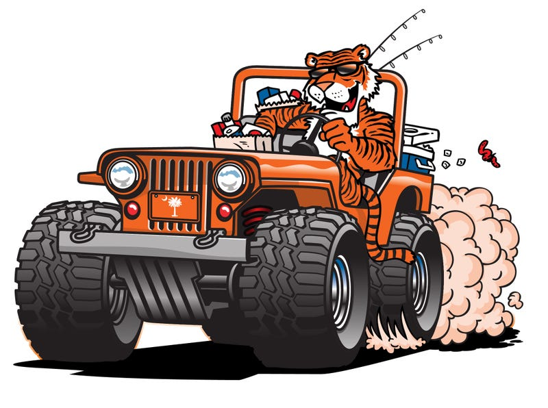 Illustration for article titled TIGER ALL THE THINGS!
