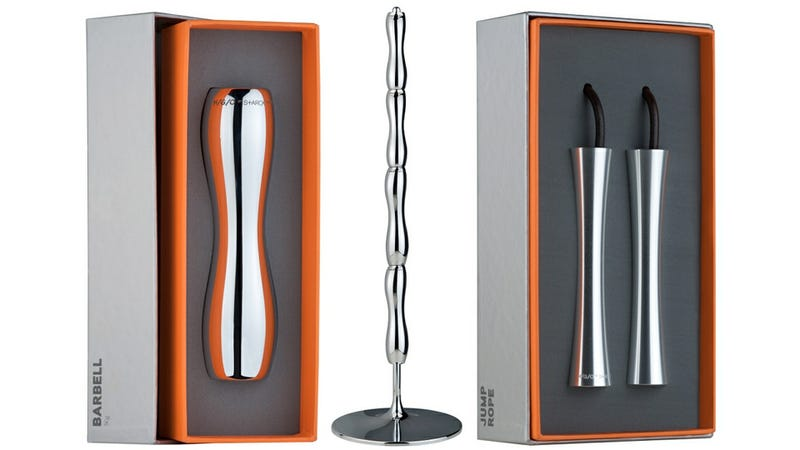 Illustration for article titled Philippe Starck Designed the Most Beautiful Fitness Equipment You'll Ever See