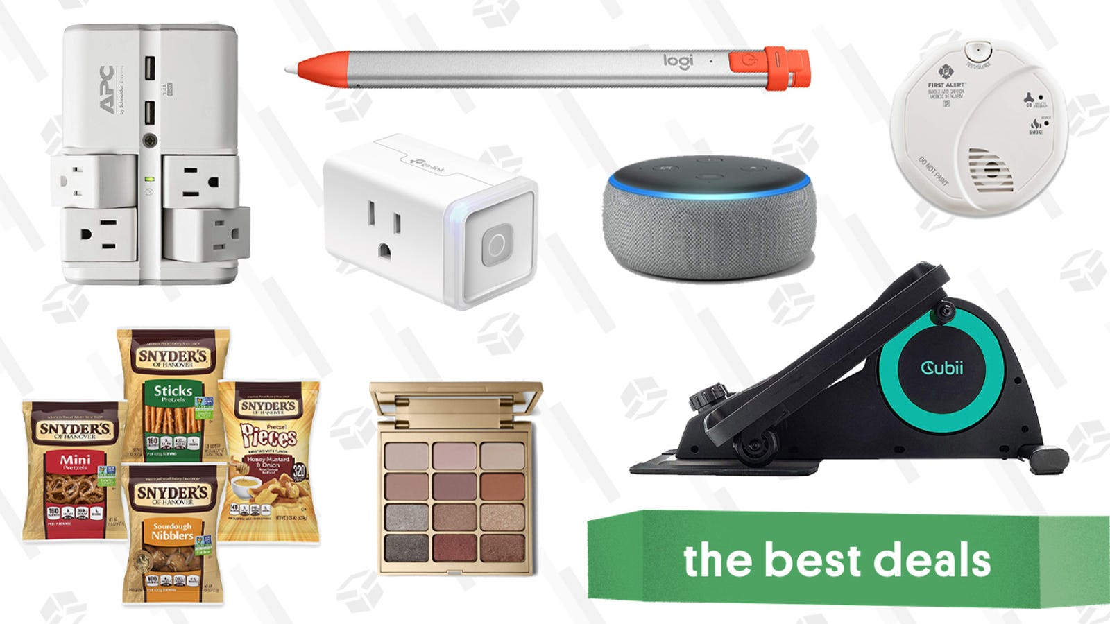 Monday's Best Deals: Echo Dots, Reebok, Pretzels, and More
