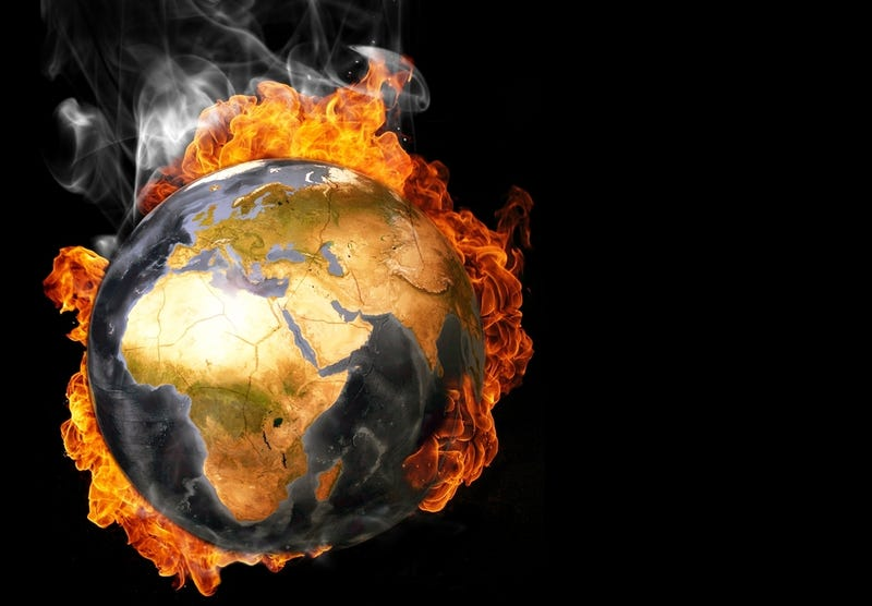 Illustration for article titled Will Burying Mass Quantities of Carbon Dioxide Relieve Our Global Warming Pains?