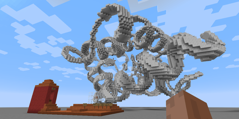 Illustration for article titled Scientists Built This Molecular Playground in Minecraft to Teach Kids Chemistry