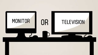 Illustration for article titled Is it Okay to Use an HDTV as a Computer Monitor?