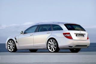 Illustration for article titled Lorinser Tunes The C-Class Estate, Finds Stock C-Class Too Pitchy