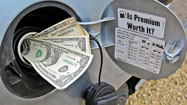 Image result for premium versus regular gasoline