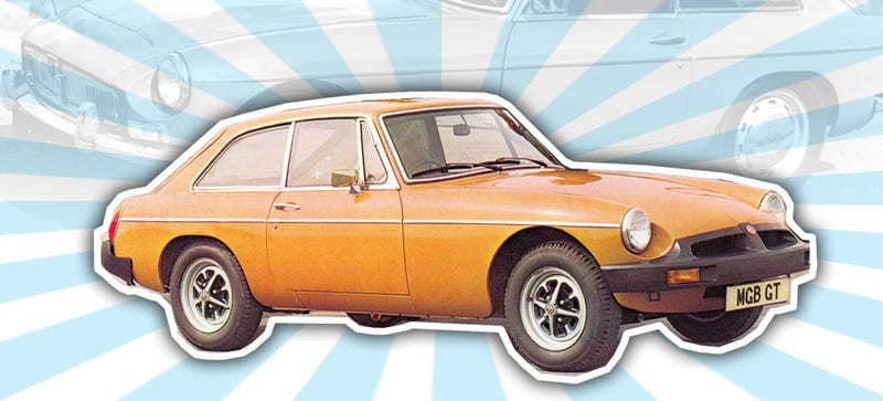 Illustration for article titled In Defense Of The Indefensible: The Rubber Bumper'd MGB Isn't So Bad
