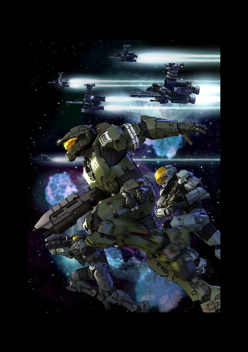Illustration for article titled Details About Halo Anime