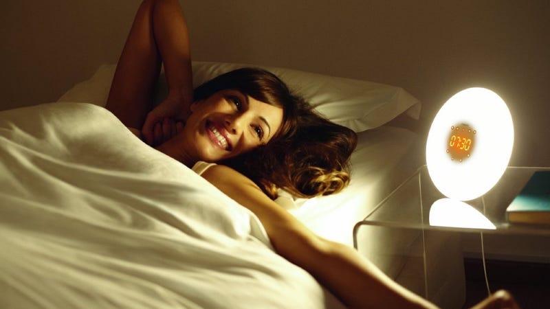 Philips Wake-Up Light Gold Box
