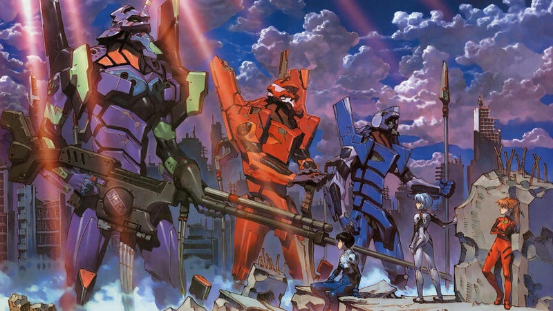 Illustration for article titled AMA about Evangelion