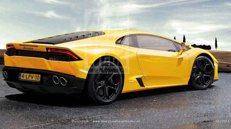 Will The Lamborghini Gallardo Replacement Be Called The Hurac 225 N