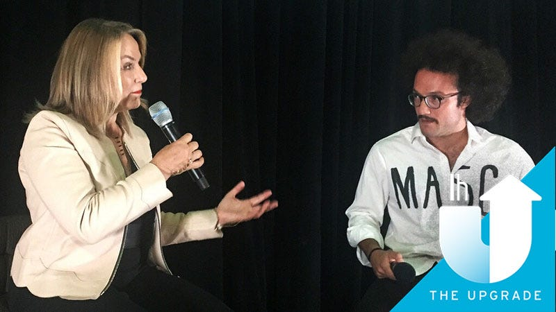 Esther Perel and Victor Jeffreys II