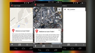 Auto Finder Remembers Where You Parked, No Setup Required