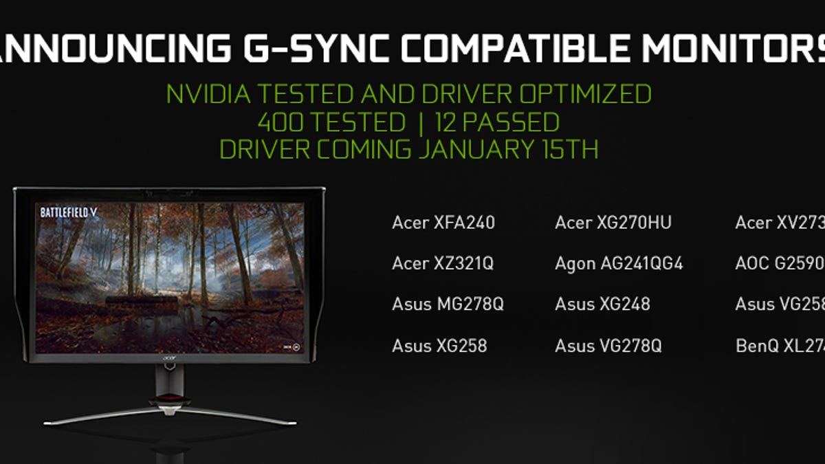 Learn the Basics of Nvidia's 'G-Sync' and AMD's 'FreeSync' Monitor
