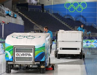 Illustration for article titled Zamboni®©℠™ Takes Winter Olympics Ice Resurfacer Controversy Way Too Seriously