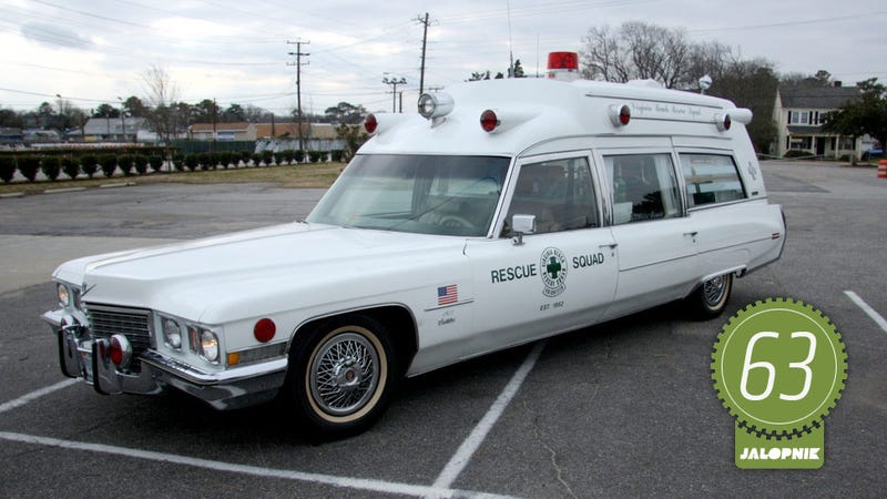 Illustration for article titled 1972 Cadillac Ambulance: The Jalopnik Classic Review