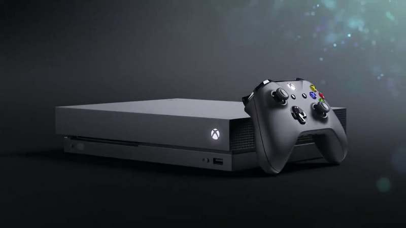 Xbox One X (Art: Microsoft)