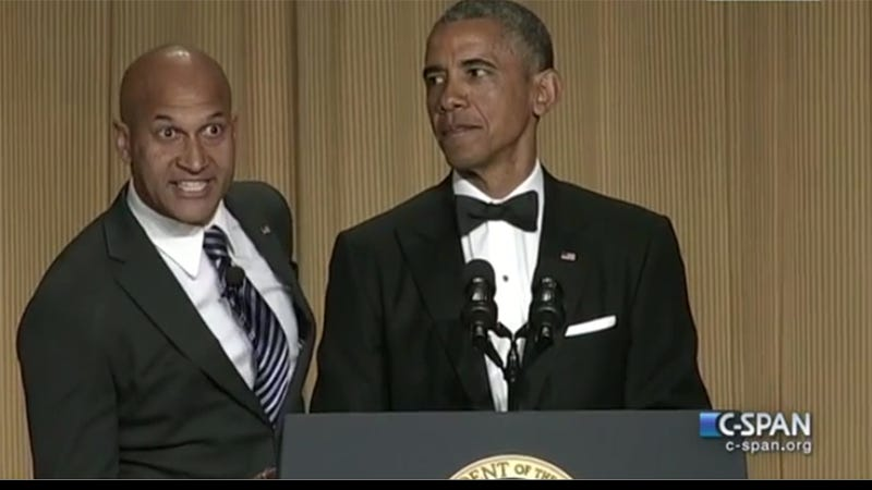 Illustration for article titled Obama Brought Out His Anger Translator To Skewer Press At WHC Dinner