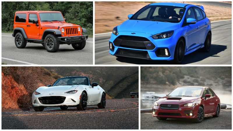 Illustration for article titled These Affordable Enthusiast Cars Prove We're In A New Golden Age