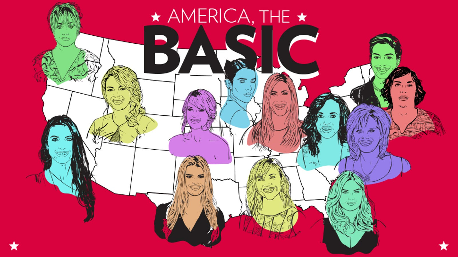 the united states of basic bitches a map and field guide