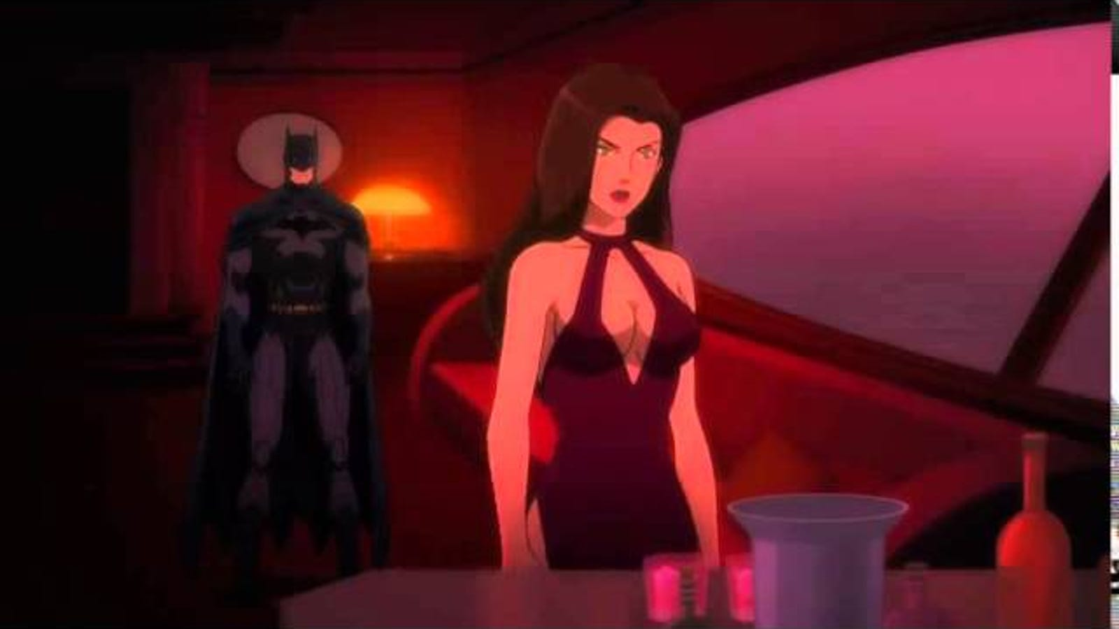 This Scene From Son of Batman is Just Shockingly Creepy
