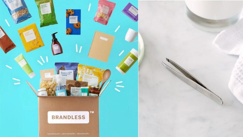 Free Precision Slant Tweezers With Purchase | Brandless | Promo code KINJA