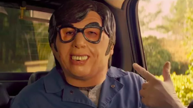 Thank theHalloweenreboot forBaby Driver's Austin Powers masks