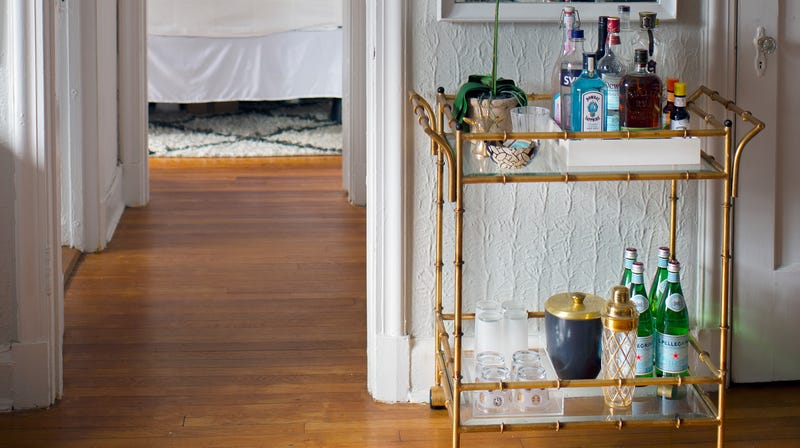 How to build your bar cart (slowly, strategically, whilst