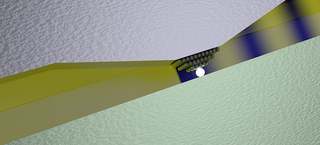 Illustration for article titled The World's Smallest Optical Switch Uses Just a Single Atom