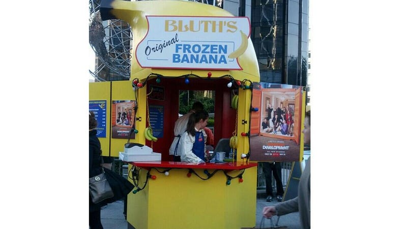 Illustration for article titled Get a Bluth's Original Frozen Banana Tomorrow at Yankee Stadium