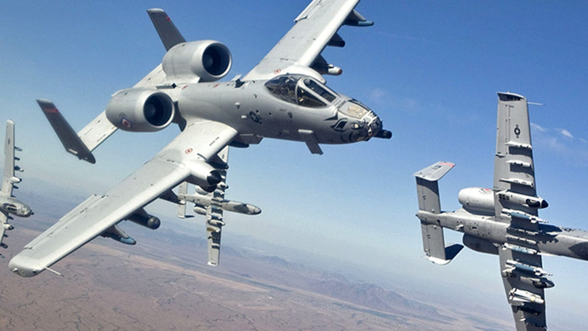 The USAF's Much Maligned A-10 Warthogs Are Deploying To