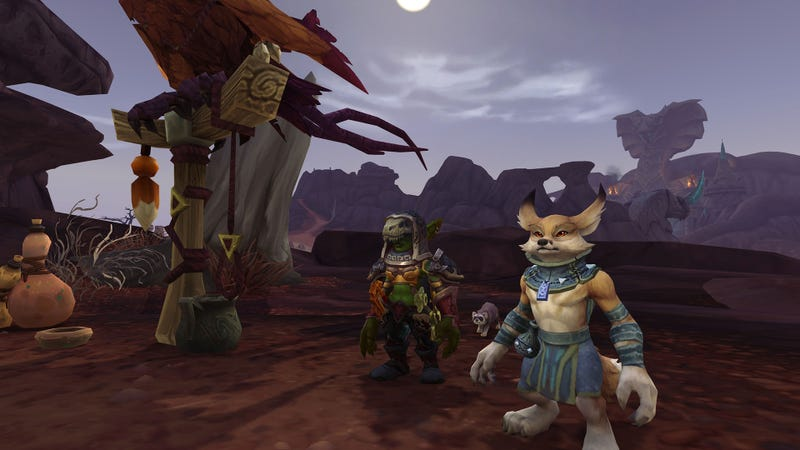 Let's be honest, I'll keep playing until the Vulpera become playable, and then I'll play some more.
