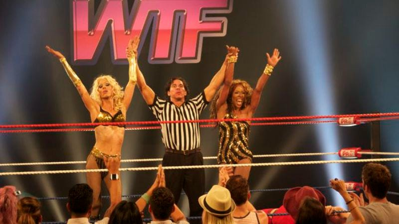 """Illustration for article titled RuPaul's Drag Race: """"WTF!: Wrestling's Trashiest Fighters"""""""