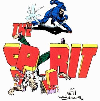 Image result for the spirit splash pages